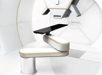 Imagen: Sistema de terapia de protones ProBeam (Fotografía cortesía de Varian Medical Systems).