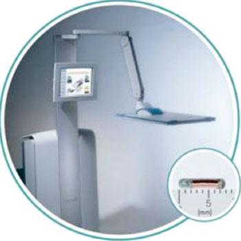Imagen: El sistema Calyspo, un GPS para el cuerpo (Fotografía cortesía de Varian Medical Systems).