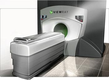 Imagen: El sistema de radioterapia, guiado por RM, MRIdian (Fotografía cortesía de ViewRay).
