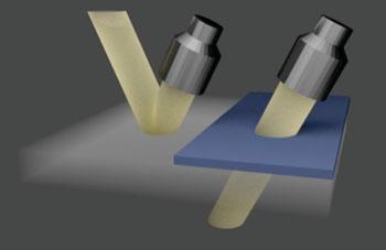 Imagen: Los investigadores han desarrollado una técnica que permite que el ultrasonido penetre el hueso y el metal, utilizando estructuras personalizadas que compensan la distorsión que suelen producir estas denominadas capas aberrantes (Fotografía cortesía de Yun Jing).