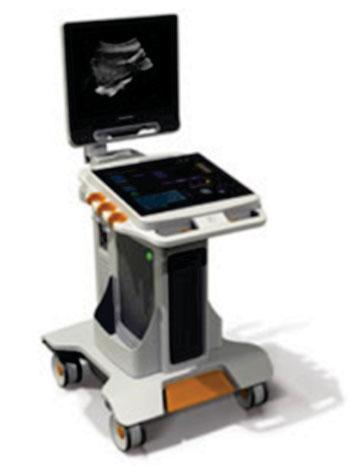 Imagen: Carestream Health presentó el sistema de ultrasonido Touch con un panel de control, totalmente táctil, en el congreso anual, de este año de la RSNA (Fotografía cortesía de Carestream Health).