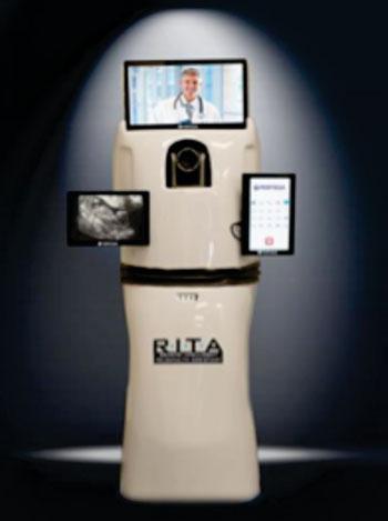 Imagen: Un asistente inteligente remoto para medicina a distancia (RITA) (Fotografía cortesía de PR Newswire).