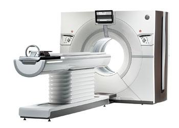 Imagen: El sistema TC Revolution (Fotografía cortesía de GE Healthcare).