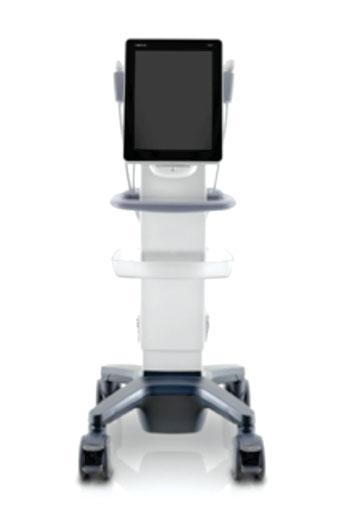 Imagen: El sistema de ultrasonido de pantalla táctil, TE7 (Fotografía cortesía de Mindray Medical International).