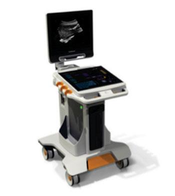 Imagen: El sistema de ultrasonido Touch (Fotografía cortesía de Carestream Health).