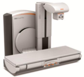 Imagen: El sistema de imágenes de fluoroscopia DRX-Excel Plus (Fotografía cortesía de Carestream Health).