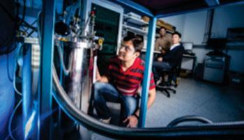 Imagen: El prototipo de un imán de bajo costo para resonancia magnética, desarrollado por unos investigadores de la Universidad de Wollowong (Fotografía cortesía de la Universidad de Wollowong).