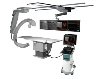 Imagen: El sistema de imagenología móvil OPTIS (Fotografía cortesía de St. Jude Medical).